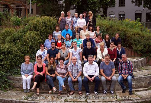 Schuljahr 2016 / 2017 Kollegium der 56. Oberschule